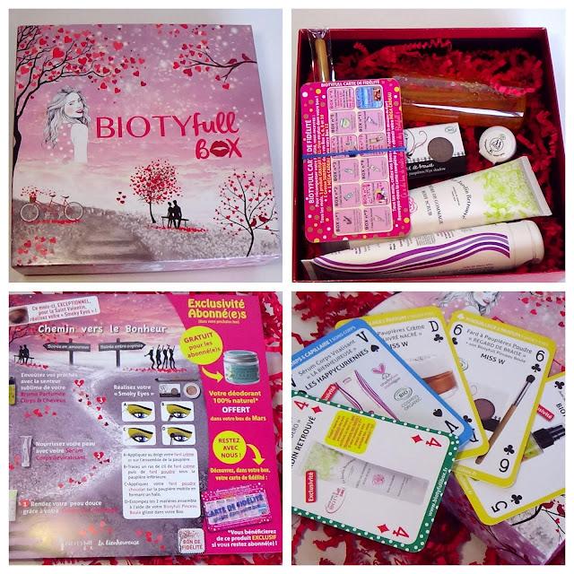 Biotyfull box de Février 2019 - La bienheureuse