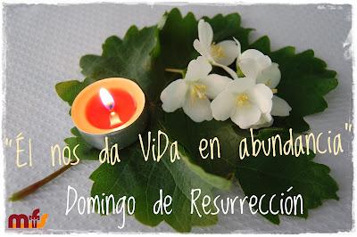 La esperada venida del Salvador... ¡Feliz Pascua de Resurrección!
