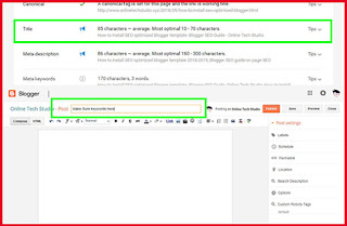 Add keywords to your blog post title