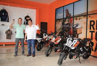 KTM Husqvarna Buka Dealer di Tangerang