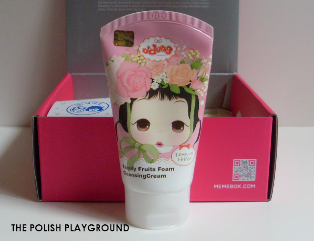Memebox Superbox #61 My Cute Wishlist 3 Unboxing - ddung Family Foam Cleansing Cream in 01 Fruits