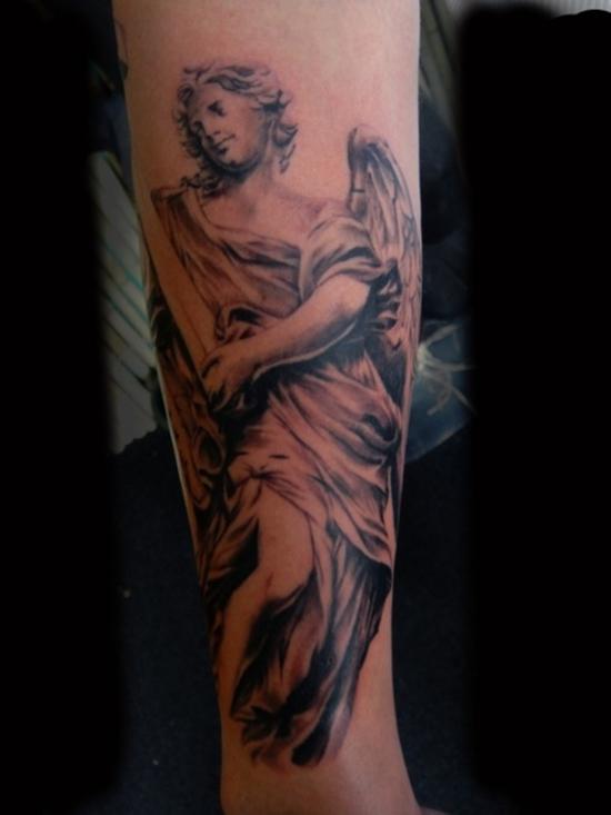 Crying Angel Tattoo Designs