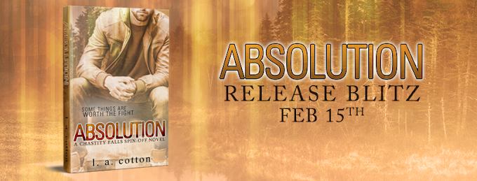 [New Release] ABSOLUTION by LA Cotton @authorlacotton #Review #Giveaway #TheUnratedBookshelf
