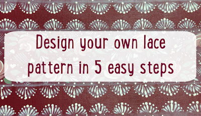 Learn how to paint our delicate lace and then play around with creating your own in 5 easy steps
