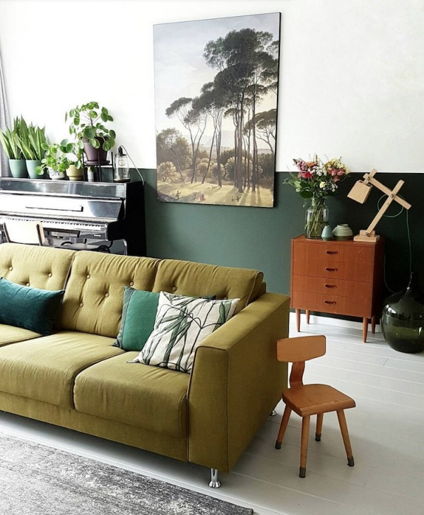Cambia look alla tua casa con il verde scuro