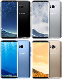 Pilihan warna Samsung Galaxy S8 Plus