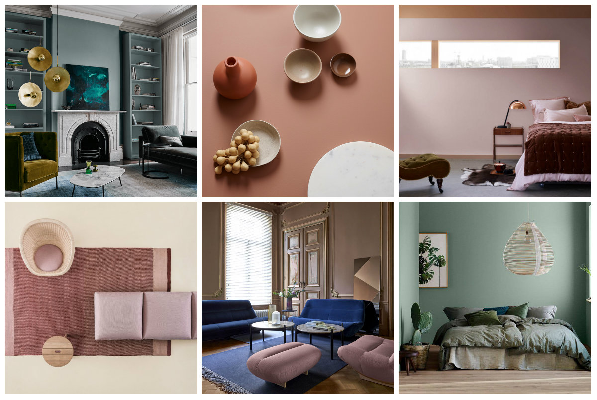 Tendencias de color en decoración 2018: los colores que van a triunfar