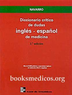 diccionario critico de dudas inglés español de medicina descargar