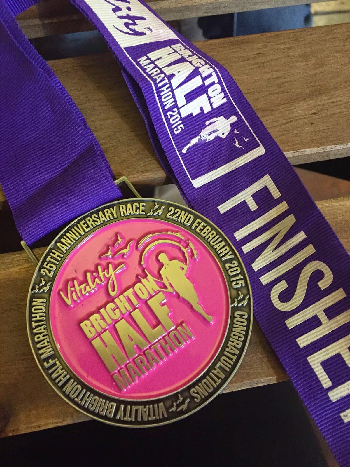 Brighton Half Marathon Medal