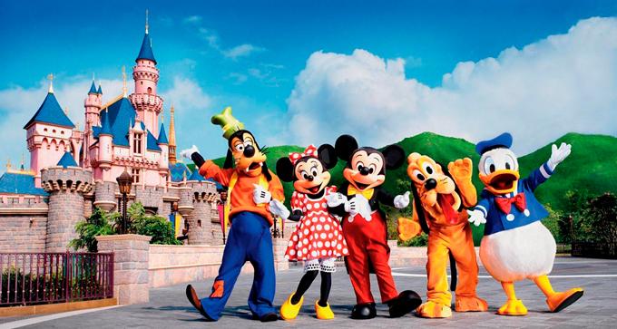 Walt Disney Company Студия Уолт Дисней