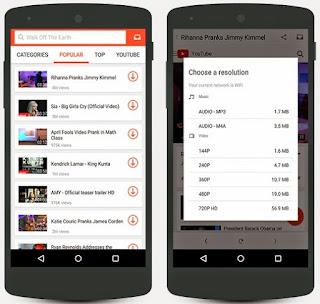 تحميل SnapTube ( سناب تيوب) افضل تطبيق لتحميل مقاطع الفيديو من شبكات التواصل الاجتماعي للاندرويد