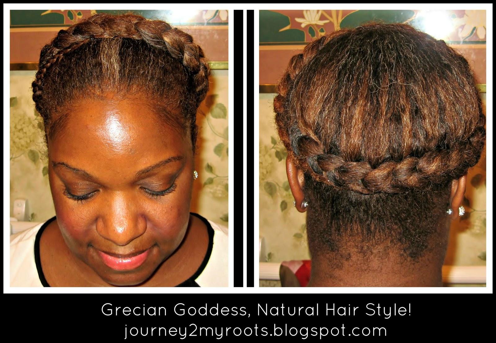 Natural Hair Braids For Kids