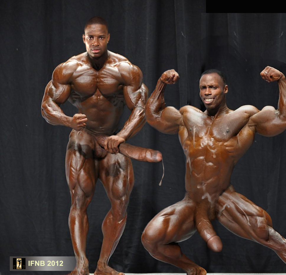 Naked pro male bodybuilder taste
