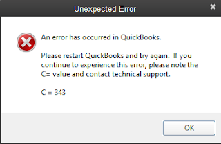 QuickBooks error c=343 Fix Resolve Support ☎ 1844-551-9757