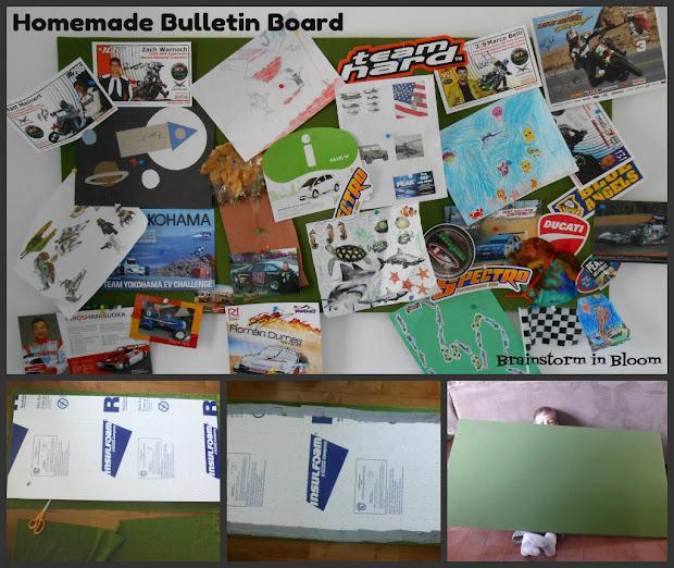 Brainstorm In Bloom Diy Homemade Bulletin Board Single