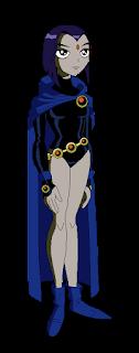 Nerdy Curve Blog | Teen Titans Raven