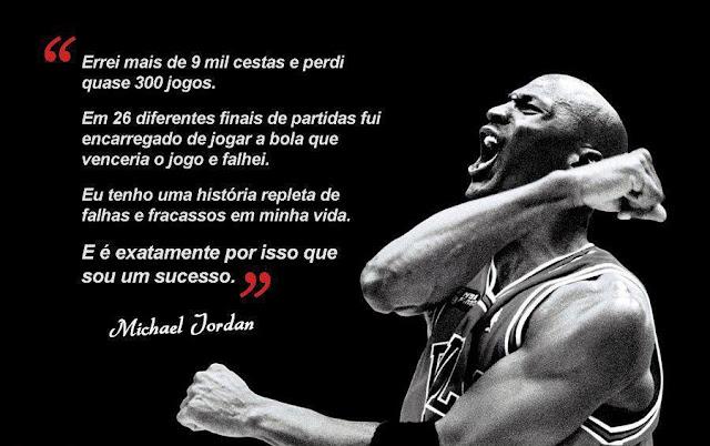 Michael jordan sucesso frase