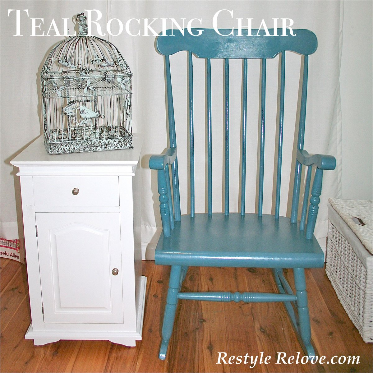 Teal Rocking Chair Teal Rocking Chair