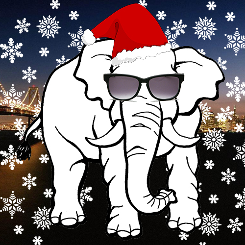white elephant gift clipart free - photo #23