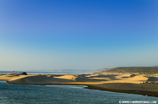 Las mejores playas del Algarve - Las Dunas de Carrapateira