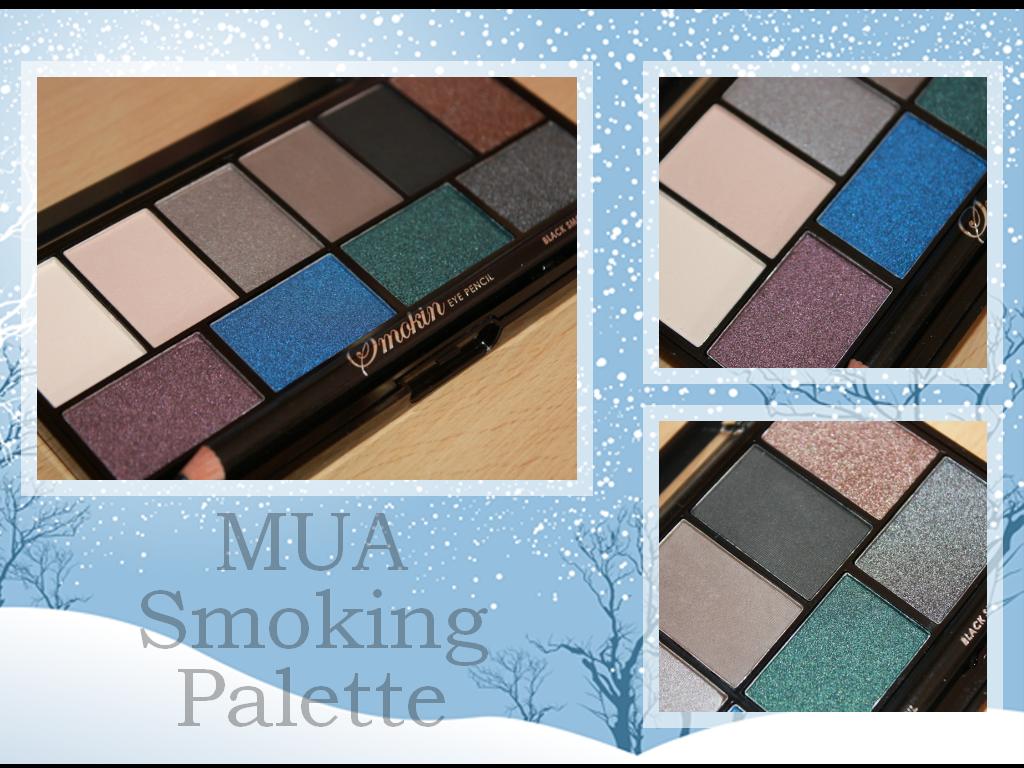 Обзор: Палетка теней smoky-eyes от MUA (MakeUp Academy).
