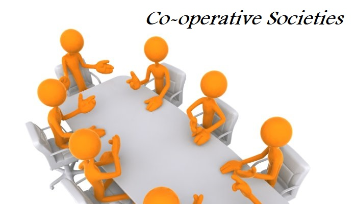 How are Co-operative Societies formed?