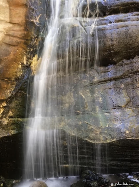 Hiking to Singletree Falls, Boulder Mountain