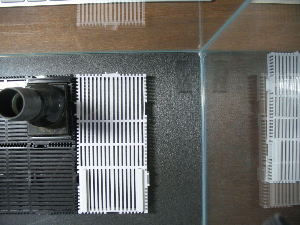 wie viel platz sollte zwischen glas und bodenfilter sein how much space should be between glas. Black Bedroom Furniture Sets. Home Design Ideas