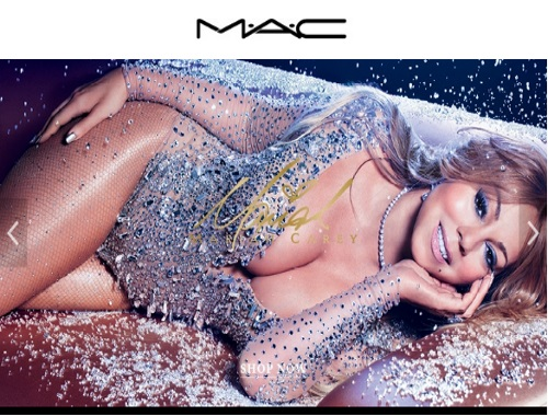Hudson's May Mac x Mariah Carey Collection