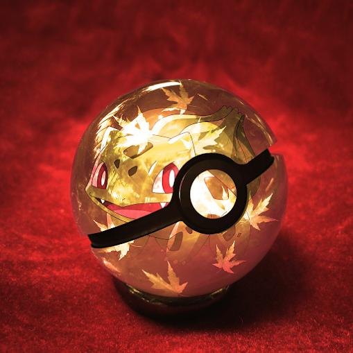 Bulbasaur In Pokeball - Pokemon Go