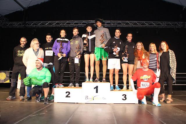 Ganadores de la IV San Silvestre de Barakaldo