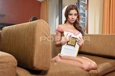 Sexy Prycyla on Popular Magz November 2014