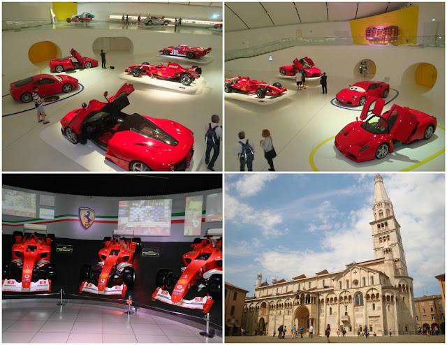 Roteiro completo - 22 dias no norte da Itália, com San Marino - Modena, Museu Enzo Ferrari e Maranello