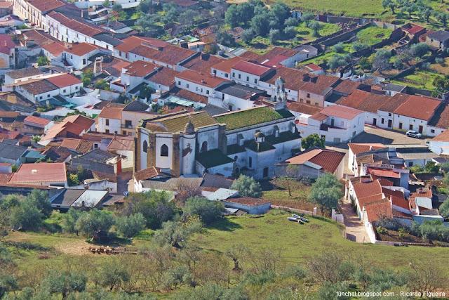 IGREJA DE NOSSA SENHORA DOS REMÉDIOS - ALCONCHEL -  ESPANHA