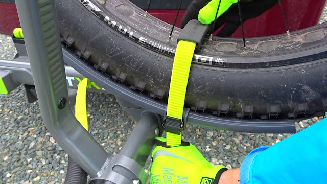 Swagman Sitkka 2 Zero Frame Contact Fatbike Rack Review strap on tire
