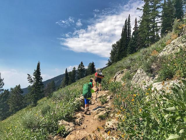 Hiking to Surprise Lake