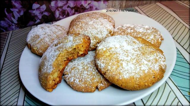 Ciasteczka żytnie z orzechami