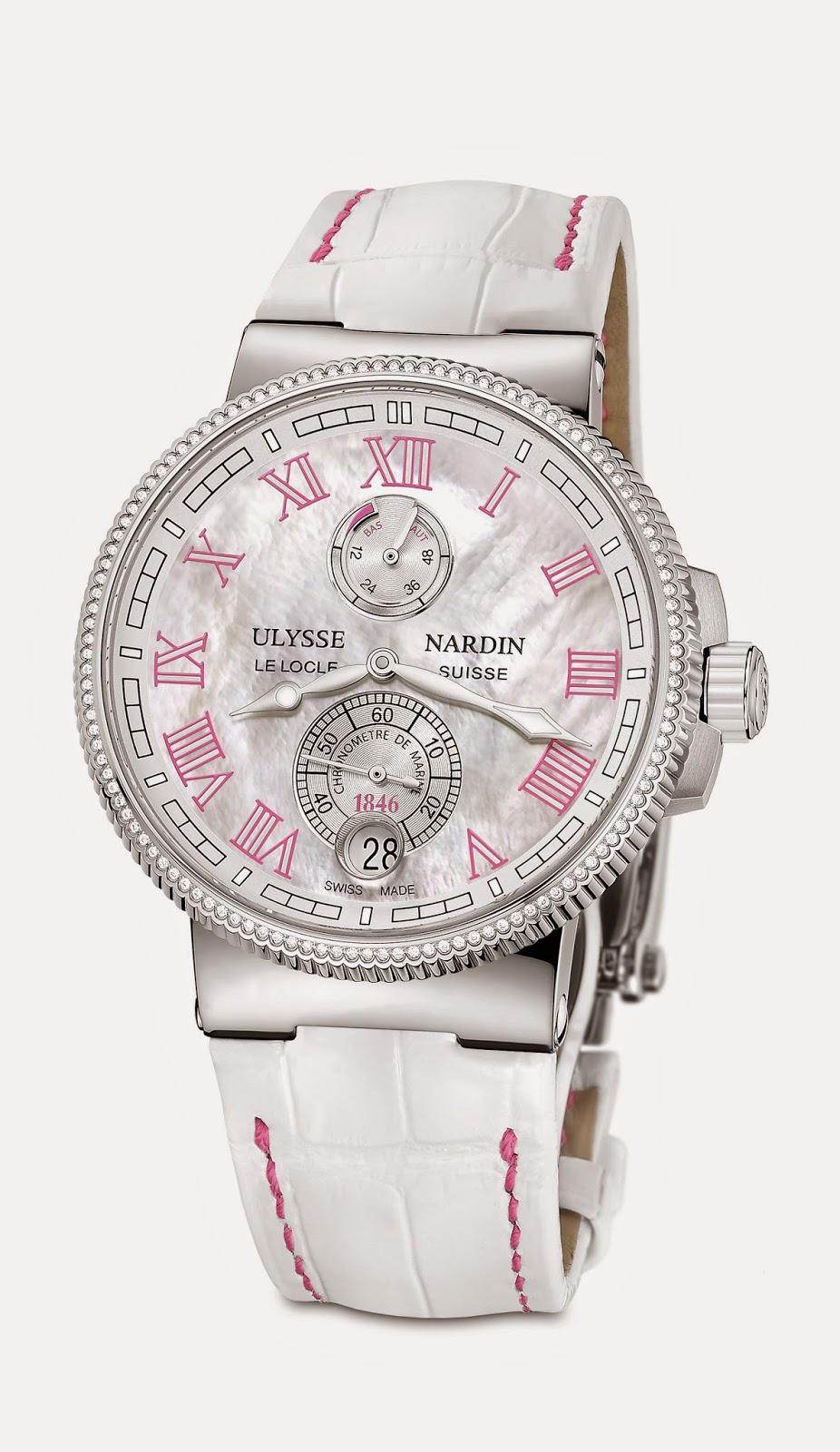 Ulysse Nardin Marine Chronometer Manufacture Ladies debajodelreloj 3