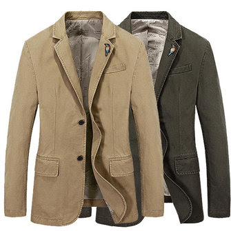 Men's Regular Blazer Business Suit Casual Jackets