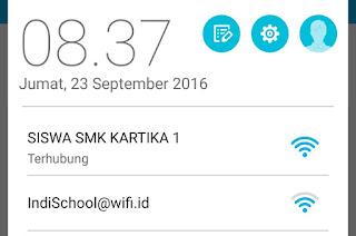 Wifi Siswa SMK Kartika 1