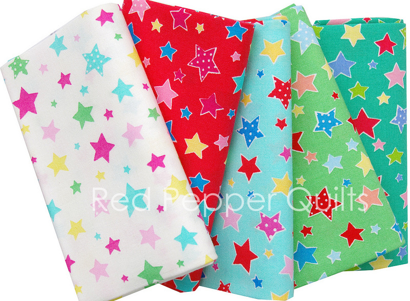 Flower Sugar Holiday 2016 for Lecien | Red Pepper Quilts Sunday Stash #334