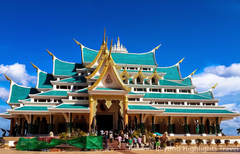 Wat Pa Phu Kon in Udon Thani province, Thailand