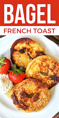 French Toast Bagels on Pinterest