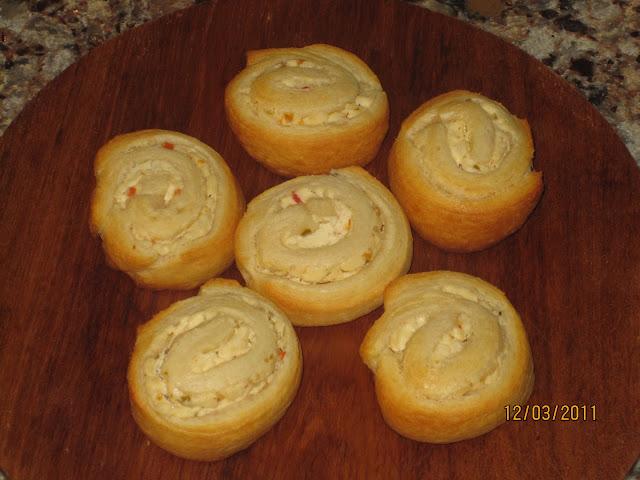 Cream Cheese Crescent Pinwheels