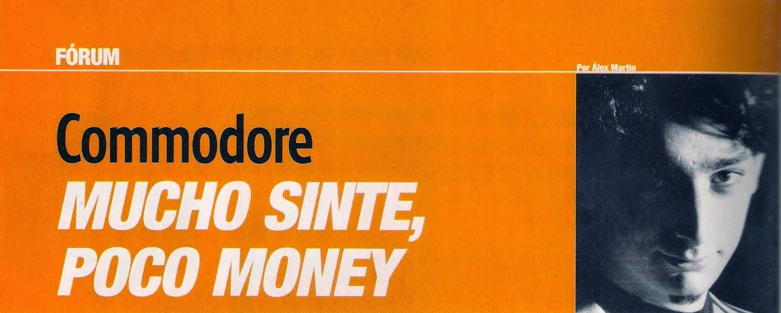 Mucho sinte, poco money - Alex Martin