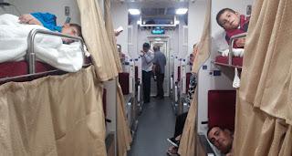 Tren-cama en Tailandia.