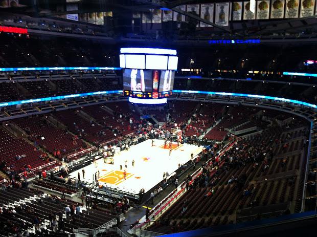 Chicago Bulls United Center Basketball