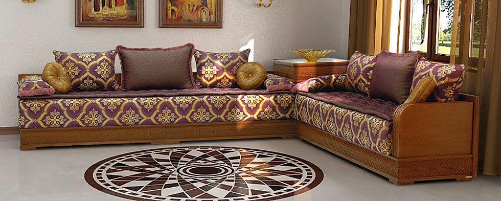 ديكورات وتصاميم الصالون المغربي Dz Fashion