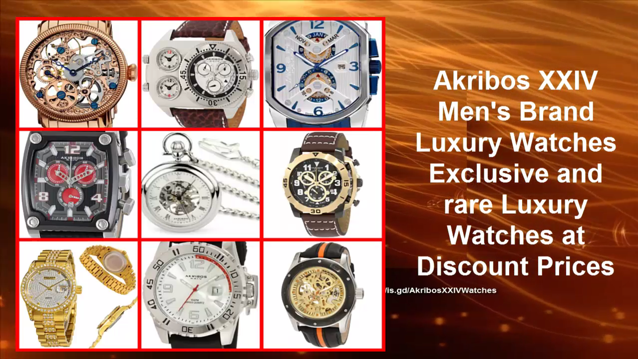 Akribos XXIV Watches