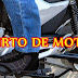 Moto é furtada no centro do distrito de Taperuaba.